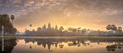 Fototapeta premium Kompleks świątynny Angkor Wat Siem Reap, Kambodża