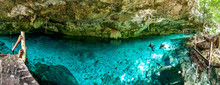 Cenote Dos Ojos - Cave Two Eye...