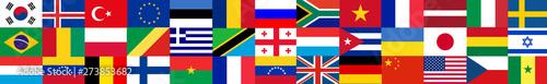 Fototapeta Flags of the world obraz