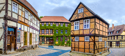 Canvastavla facade in quedlinburg