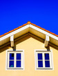 canvas print picture modern roof