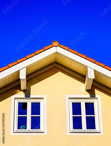 canvas print motiv - fottoo : modern roof