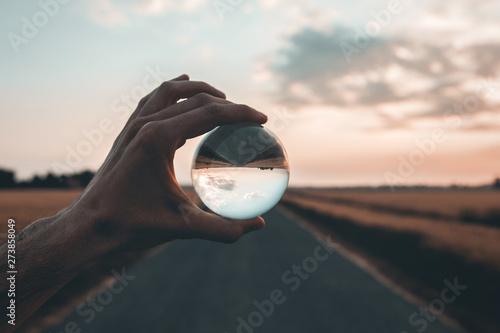 Fotografiet  Focalizza l'obiettivo all'orizzonte.