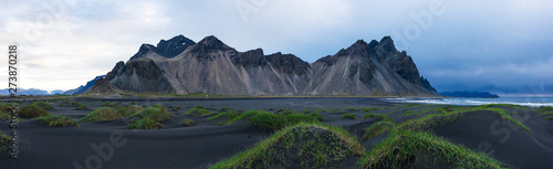 Wall Murals Northern Europe Vestrahorn Stokksnes, southern Iceland