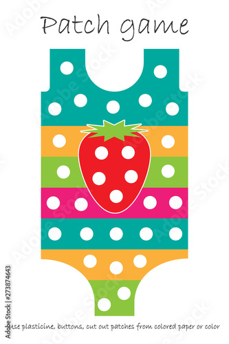 graphic relating to Printable Patches identify Instruction Patch activity swimsuit for young children toward produce engine