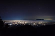 A Beautiful Night City View Fr...
