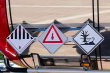 Transportation Of Dangerous Goods By Truck, Trailer, In Tank