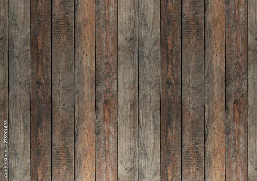 Fototapety, obrazy: Old wooden boards background.