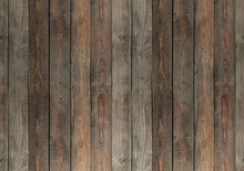 Old Wooden Boards Background.