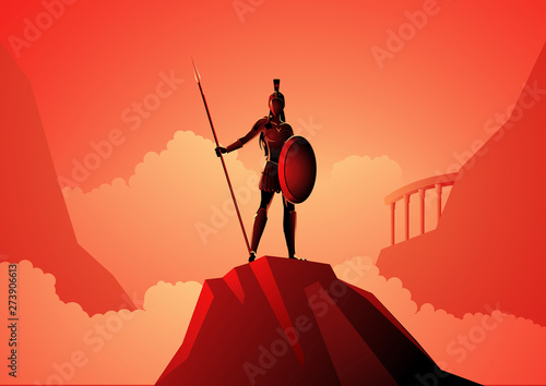 Athena The Goddess of Wisdom Wallpaper Mural