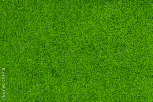 Green terry texture background. - 273919429