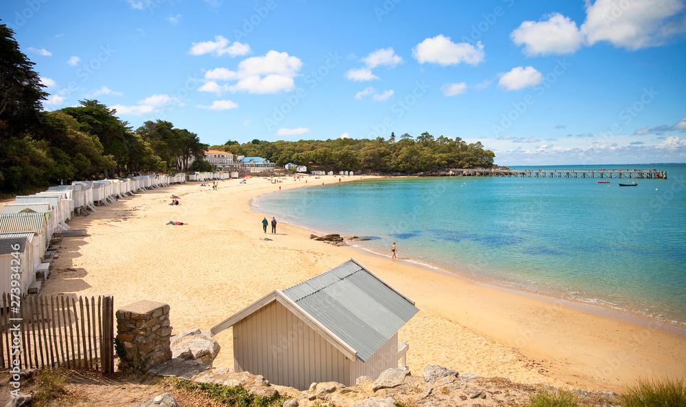 Fototapety, obrazy: Île de Noirmoutier > Plage des Dames > Vendée > France