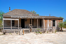 Courthouse Of Judge Roy Bean In Langtry, Texas
