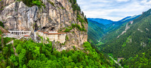 Sumela Monastery In Trabzon Province Of Turkey