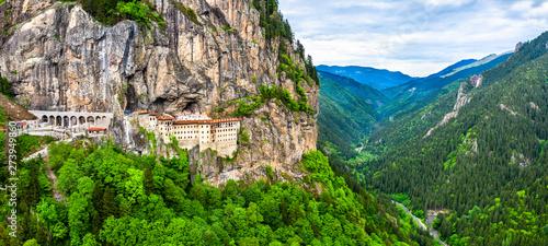 Photo Sumela Monastery in Trabzon Province of Turkey