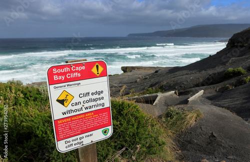 Valokuva  South Cape Bay Sign