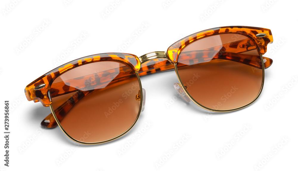 Fototapeta Folded Leopard Sun Glasses