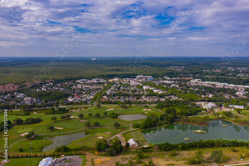 Aerial photo Celebration Florida USA