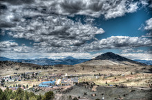 Elevated View Of Cripple Creek...
