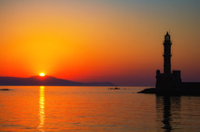 Lighthouse Of Chania At Ummer ...