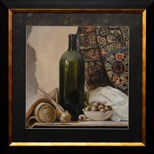 Still Life, Oil Painting, Handmade Drawing