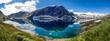 Djupvatnet-See am Dalsnibba in Norwegen