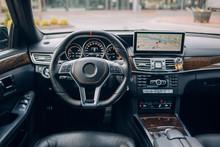 Modern Suv Car Dashboard And Interior