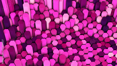 3d render abstract colorful...