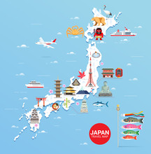 Japan Famous Landmarks Travel ...
