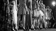 Leinwanddruck Bild - Fashion Show, Catwalk Event, Runway Show themed photo.