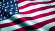 Waving Flag Of United States Of America Looping