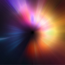 Abstract Light Zoom Effect Background
