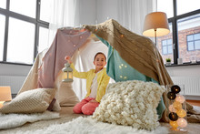 Childhood And Hygge Concept - ...