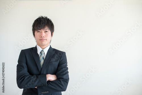 若いビジネスマン Obraz na płótnie