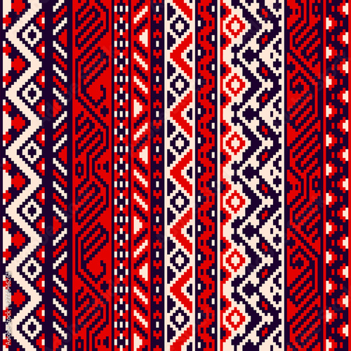 czerwone-czarno-biale-etniczne-paski-bez-szwu-geometryczny-wzor-wektor