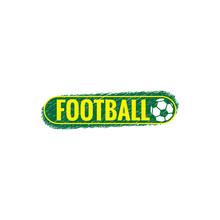 Soccer Logo And Soccer Ball, Vector Logo Design