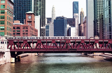 Chicago Downtown Bridges Metro...