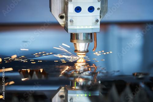 Fotografie, Obraz  Laser cutting