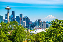 Beautiful Clear Day In Seattle...
