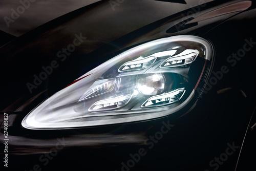 Modern car xenon, led lamp headlight