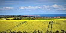 View Of The North Sea 2 From Hunmanby.