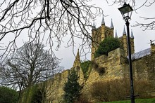 Lincoln Cathedral From The Bishop's Palace Gardens