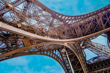 Shoot Closeup Detail Eiffel To...