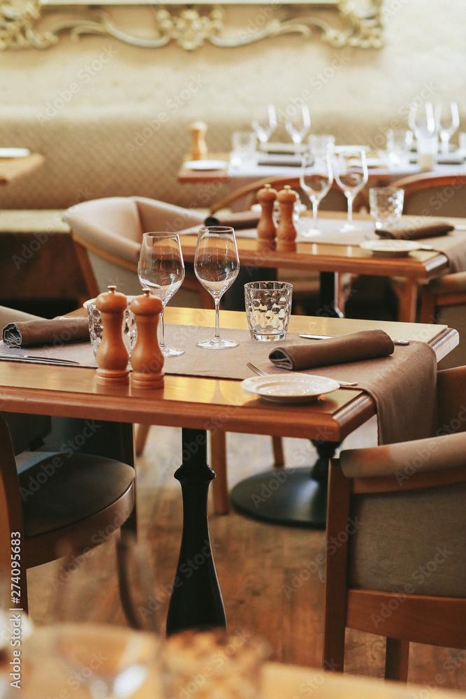 Fototapety, obrazy: Restaurant interior