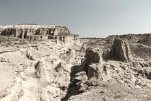 Desert Landscape,Plaza Blanca (The White Place), Espanola, NM