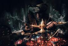Aladin Lamp.