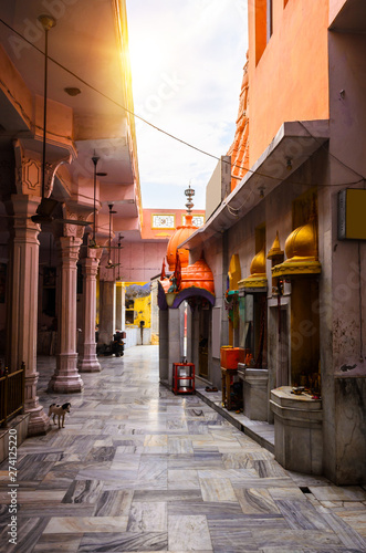 Photo  Traditional street in Amritsar, Punjab, India