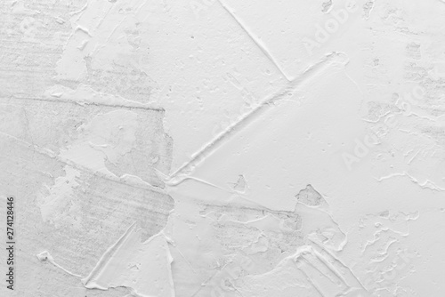 Photographie  Texture of white plaster