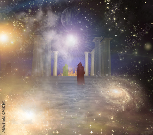 Temple of Eternity Fototapet