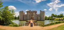 Historic Bodiam Castle And Moa...